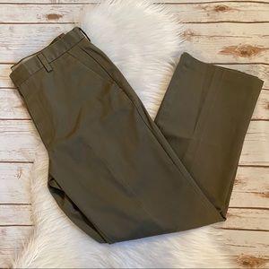 DOCKERS BROWN DRESS PANTS 33X32